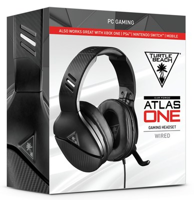 The new Turtle Beach Atlas One PC gaming Headset.
