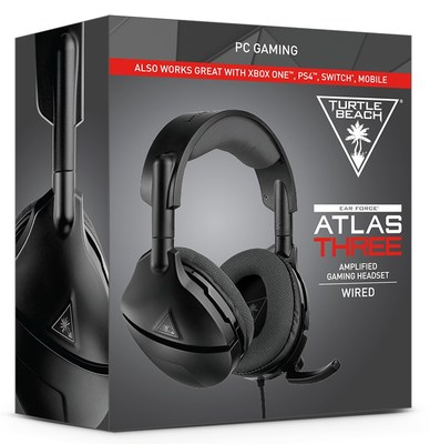 The new Turtle Beach Atlas Three PC gaming Headset.