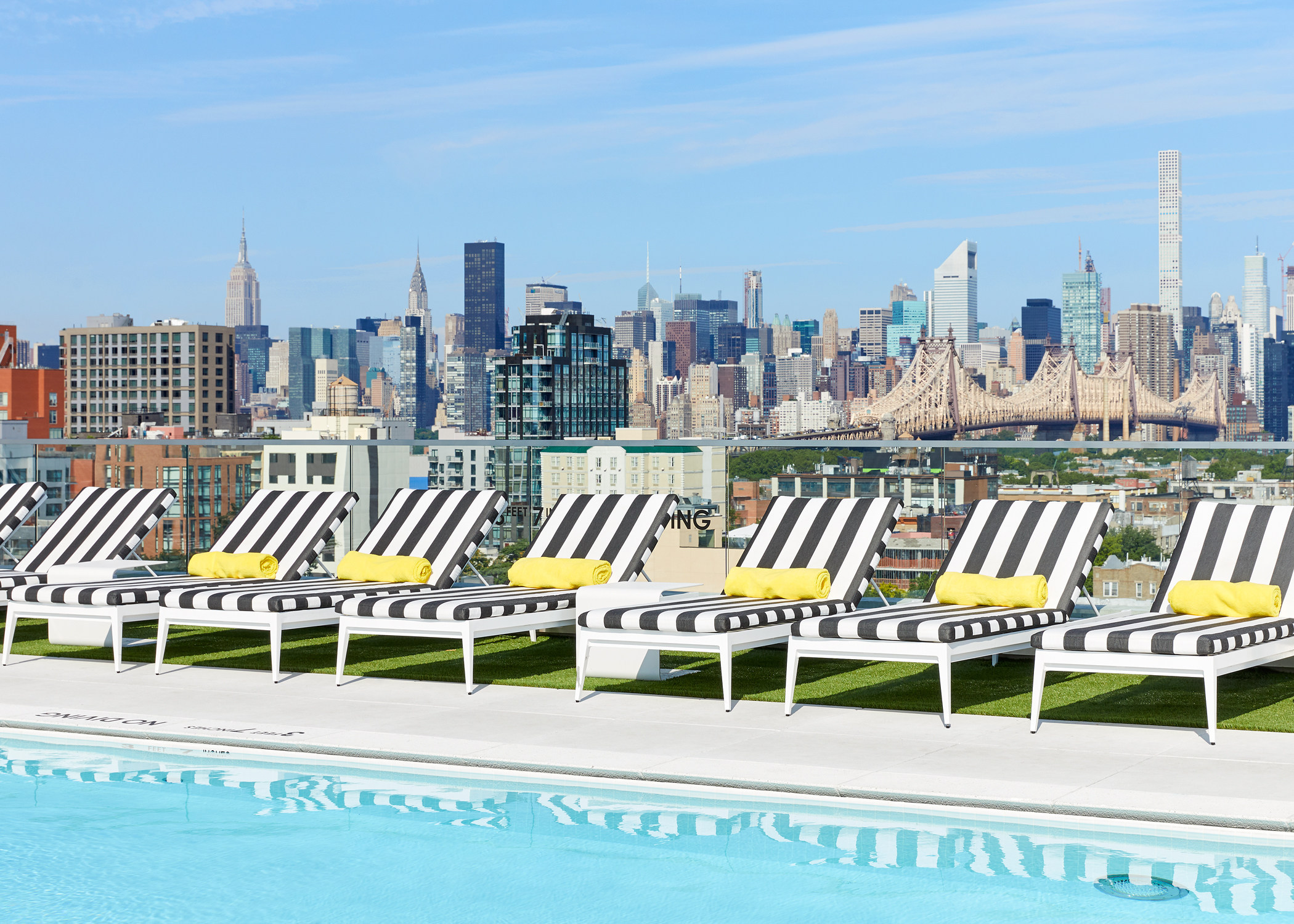 ARC offers 50,000 square feet of amenities, featuring a 70-foot long environmentally-friendly salt water rooftop pool