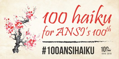 Write a haiku on a voluntary standard and help ANSI celebrate its centennial!