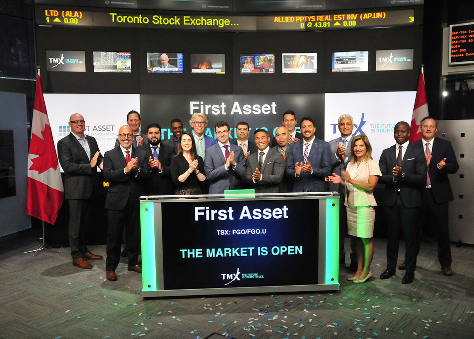 First Asset Opens the Market (CNW Group/TMX Group Limited)