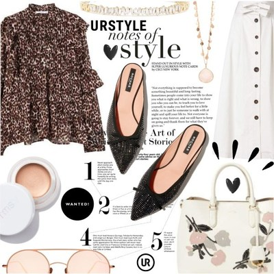 Example product set containing shoppable items. Source: https://urstyle.com/styles/1787358