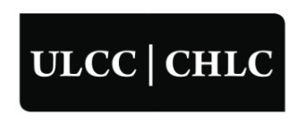 Logo: ULCC/CHLC (CNW Group/Uniform Law Conference of Canada (ULCC))