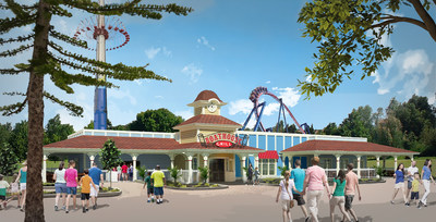 Kansas City amusement park, Worlds of Fun will soon begin breaking ground Boathouse Grill, a brand-new dining concept coming in 2019. The restaurant will feature a bevy of new and improved food options that are sure to make the dining experience just as memorable as the rides.