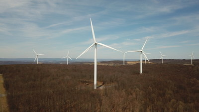 Super cool windmill farm!