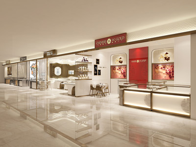 Retail space of China Precious Gold Holdings Ltd