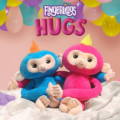 Lovable Fingerlings HUGS new from WowWee!