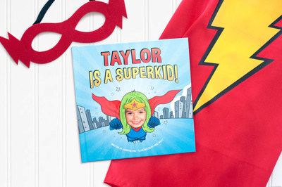 Super Kid! Personalized Storybook with Superhero Cape and Mask by I See Me!