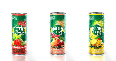 Perrier® Carbonated Mineral Water introduces Perrier® & Juice drink, a bold and juicy refreshment exclusively available in the Los Angeles market.