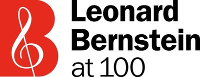Leonard Bernstein at 100 Logo