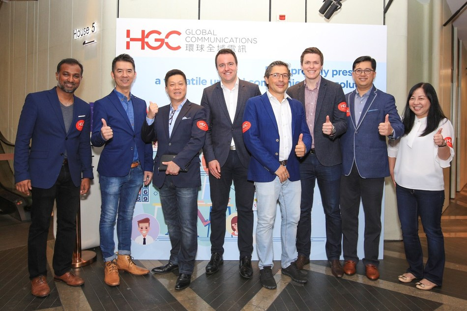 An event was held by HGC at a cinema on 18 August to announce the collaboration with Blueface to launch UC Anywhere.