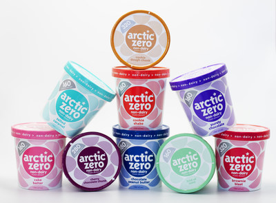 Arctic Zero introduces dairy-free, plant-based frozen desserts in nine delicious flavors.