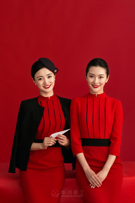 Sichuan Airlines' new 7th edition uniforms