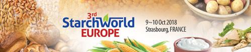 3rd StarchWorld Europe (PRNewsfoto/Centre for Management Technology)