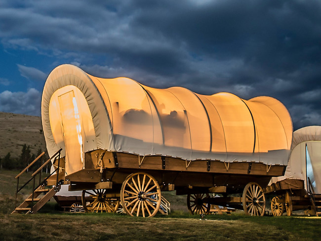 New Conestoga Wagons at Yosemite Pines RV Resort and Family Lodging Being Introduced with Special Offer