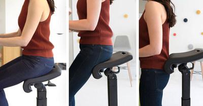 LeanRite Adjustable Standing Desk Chair
