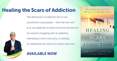 Dr. Gregory Jantz Published Seminal Book Healing The Scars of Addiction Photo