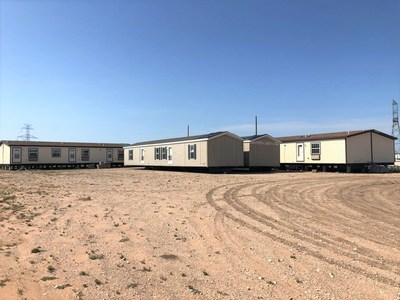 VESTA Modular provides Atlas Oil Frac and Rig Fueling business with temporary housing in Odessa, TX.