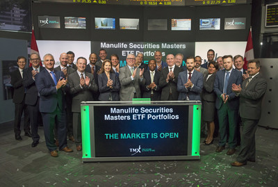 Manulife Securities Masters ETF Portfolios Opens the Market (CNW Group/TMX Group Limited)