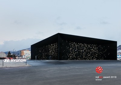 The Hyundai Pavilion was created to bring Hyundai Motor's brand vision of future mobility into a physical space and convey the story of its innovative fuel cell technology. (CNW Group/Hyundai Auto Canada Corp.)