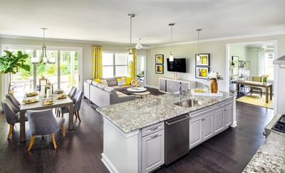Model Home from Freedom Collection at Trilogy Lake Norman