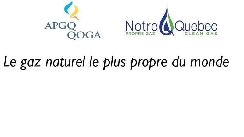 Logo : L'Association pétrolière et gazière du Québec (Groupe CNW/Association pétrolière et gazière du Québec (APGQ))