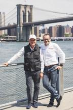 Paolo Pininfarina with Michael Perschke, Automobili Pininfarina CEO (PRNewsfoto/Automobili Pininfarina)