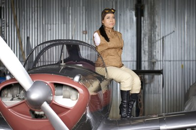 Jessica Cox is the world's first armless pilot and flies a 1945 Ercoupe 415-C.