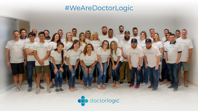 Software Developer, DoctorLogic, ranks 317 out of 5,000 companies on the 2018 Inc. 5000 list. With a year-over-year growth of more than 100%, DoctorLogic creates stunning, responsive websites using its proprietary Patient Marketing Platform to help medical practitioners grow their practice. Shown in this photo: The DoctorLogic Dallas-based team of digital marketing professionals.