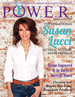 Tonia DeCosimo announces her exclusive interview with actress, author and entrepreneur Susan Lucci, which will be featured in the Summer issue of P.O.W.E.R. (Professional Organization of Women of Excellence Recognized) Magazine and can be heard on powerwoe.com.
