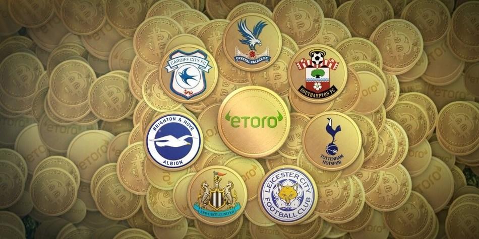 eToro Brings Bitcoin to Football (PRNewsfoto/eToro)