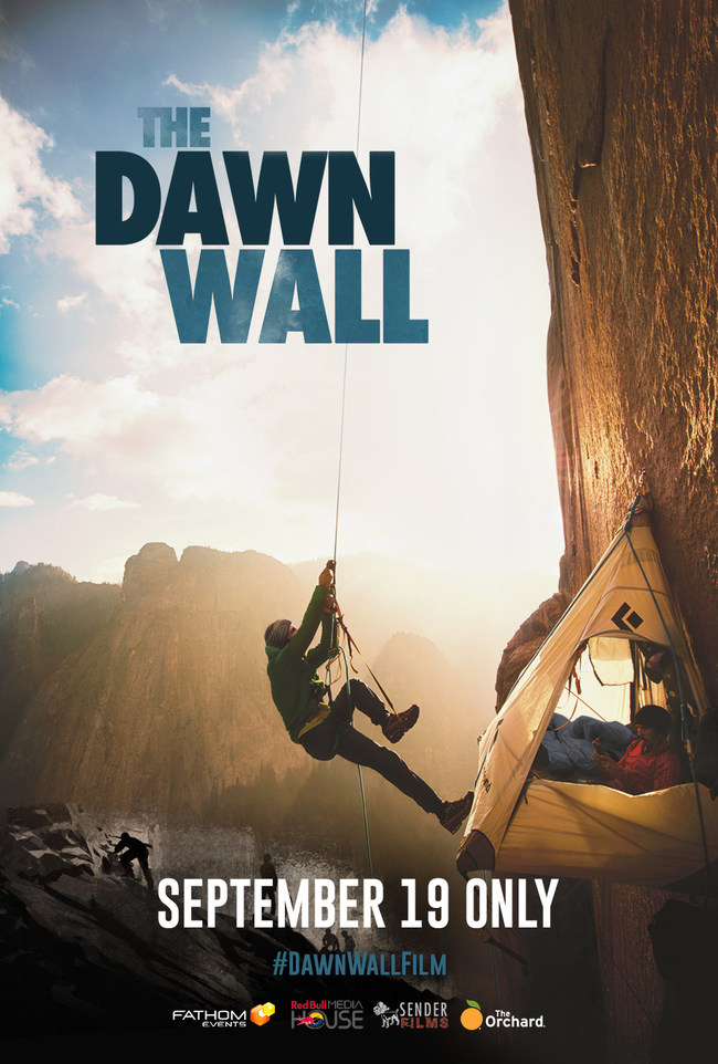 """See the epic climb of """"The Dawn Wall"""" in theaters September 19"""