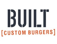 "BUILT Custom Burgers is the ""fast casual"" version of The Counter, serving popular ""Build Your Own"" burgers, fries, shakes, and more, all in a laid back space."