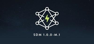 SDM 1.0.0-M.1 logo