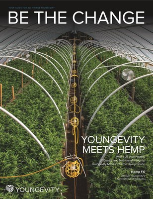 YOUNGEVITY TO ENTER THE HEMP (CBD) MARKET, Product Launch at YGYI Convention This Week
