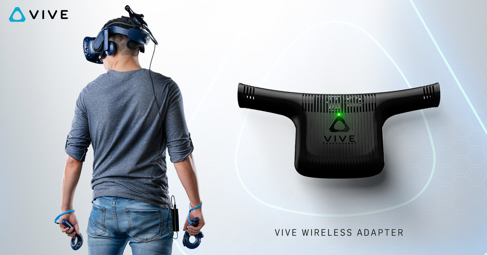 The new Vive Wireless Adapter cuts the cable back to the PC, delivering an unprecedented VR experience for Vive customers.