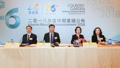 Country Garden's Interim Results Conference 2018