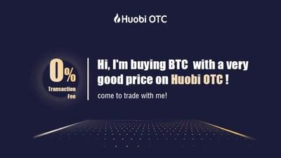 Hi, I'm buying BTC with a very good price on Huobi OTC