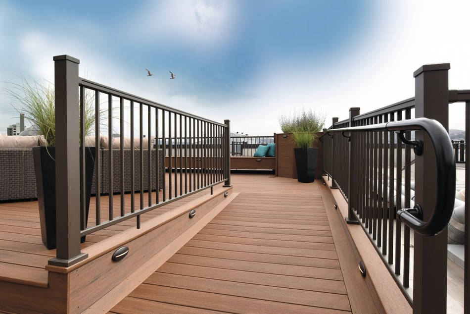 Professional Remodeler magazine has named AZEK's Impression Rail to its Top 100 Products for 2018.  Impression Rail, a powder-coated aluminum railing system with the look of wrought iron, recently added Bronze to its color palette. Rather than entry forms or a panel of judges, the Top 100 is completely determined by reader engagement, featuring readers' most clicked-on and requested products from the past year.