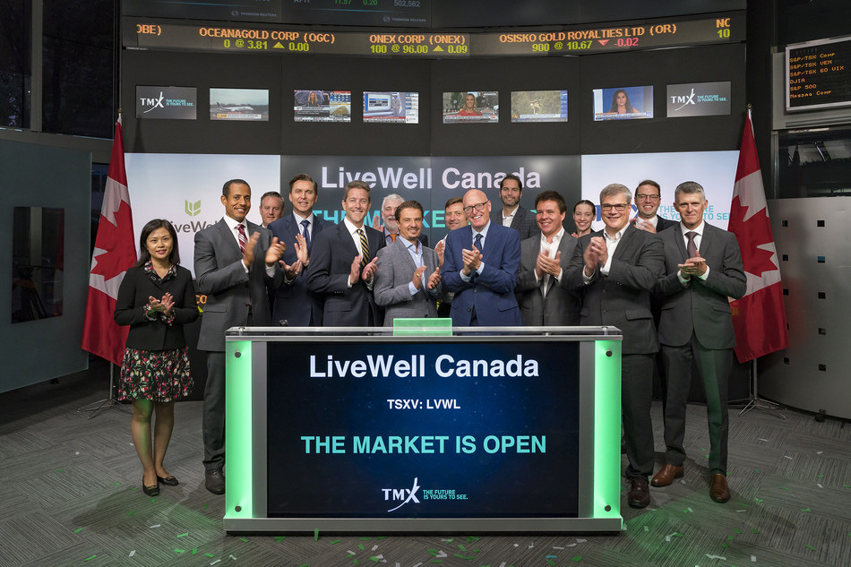 LiveWell Canada Inc. Opens the Market (CNW Group/TMX Group Limited)