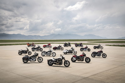 The all-out performance of the new 2019 Harley-Davidson® FXDR™ 114 model sets the pace for Harley-Davidson's new 2019 motorcycles, accessories and gear that deliver fresh style, thrilling performance and advanced technology.