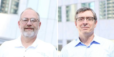 Ted Bardusch, Head of Engineering and Operations, and Pete Baltaxe, Head of Product, Amplero