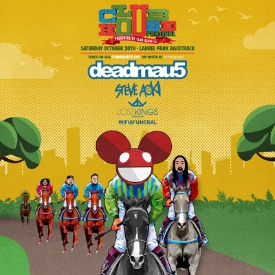 DEADMAU5 TO HEADLINE FIRST EVER CLUBHOUSE FESTIVAL AT MARYLAND MILLION