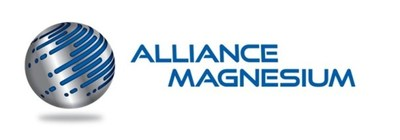 Logo: Alliance Magnesium Inc. (CNW Group/Alliance Magnesium Inc.)