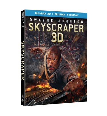 From Universal Pictures Home Entertainment: Skyscraper