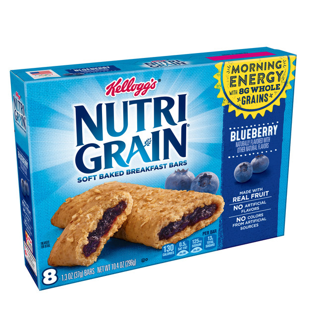 Every new school year presents new opportunities. With high hopes, parents aim to do things differently. They plan to lay out their kid's clothes the night before. To wake up earlier. To eat healthier and be more patient with the kids. Then reality kicks in. That's why Nutri-Grain, the fuel-for-your-busy-morning breakfast bar, surveyed over 2,000 moms and dads about their morning routines and school year resolutions to find out what the back-to-school morning hustle is really like. (PRNewsfoto/Kellogg Company)