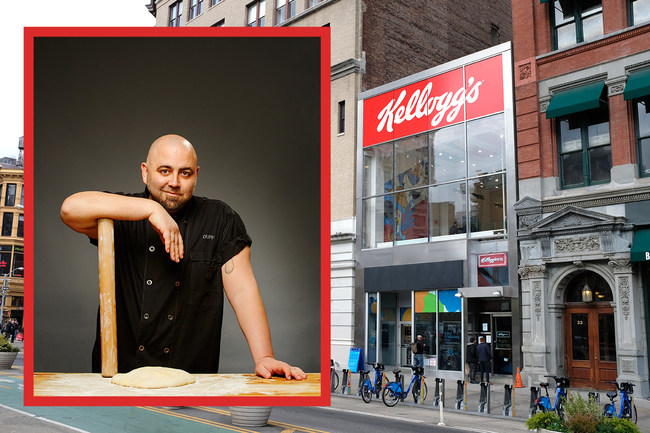 Just in time for fall, on September 12 and 13, Kellogg's and Duff Goldman are teaming up to offer an exclusive and exhilarating dining experience for foodies and restaurant-goers.