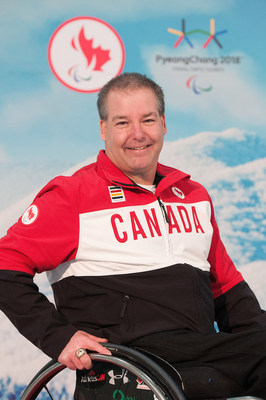 Todd Nicholson, Chef de Mission for the Canadian Paralympic Team at the PyeongChang 2018 Paralympic Winter Games, has been named Chair of Own the Podium.PHOTO: Canadian Paralympic Committee (CNW Group/Canadian Paralympic Committee (Sponsorships))