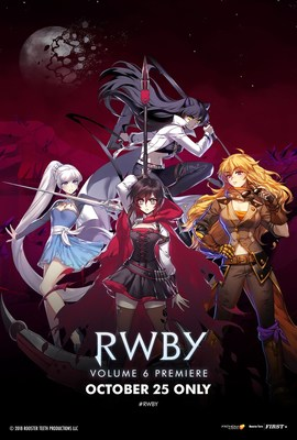 See the Volume 6 Premiere when RWBY comes back to theaters October 25th.