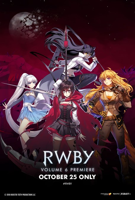 Hit Anime Series RWBY Returns to the Big Screen for Debut of